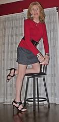 DSCF8632 (Rachel Carmina) Tags: cd tv ts tg trap tgirl trans transgender crossdresser transvestite femme heels