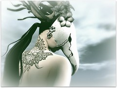I live in dreams (Abi Latzo) Tags: white~widow azoury avatar lelutka cosmopolitanevent tattoo ink events