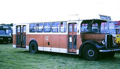 Slide 096-29 (Steve Guess) Tags: woburn abbey bedfordshire england gb uk bus rally showbus lisbon portugal aec regal esv811 141 carris 111449 lhd