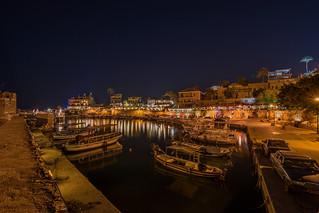 Byblos Port At Night, Lebanon