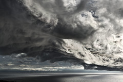 Clouds over Snäck, Gotland (arkland_swe) Tags: cloud cloudporn weather väder balticsea