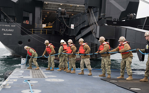 Logistics skills put to test during Combined Joint Logistics Over the Shore exercise in South Korea