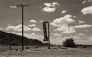 a stop on Route 66