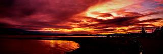 Warm Ayrshire Sunset