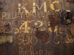 Repair notes on the side of an old locomotive. . . . #explorediscovershare #photograph #olympus #olympusomd #mirrorlesscamera #mirrorless #getolympus #ogden #train #railroad #old #rust #utah #utahphotography #utahphotographer #picoftheday #photoofday #fli (explorediscovershare) Tags: instagram repair notes side an old locomotive explorediscovershare photograph olympus olympusomd mirrorlesscamera mirrorless getolympus ogden train railroad rust utah utahphotography utahphotographer picoftheday photoofday flickr graffiti