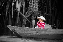 Mekong Delta (Maxum1201) Tags: mekong delta boot kind colorkey vietnam saigon hochiminh fluss river