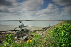 Essex Foulness Island (daveknight1946) Tags: essex foulness island boat old fishingboat greatphotographers