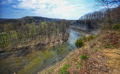 Rocky River, Cleveland Metroparks (mswan777) Tags: rock cliff park cleveland rocky nature outdoor hike trail nikon d5100 ohio travel scenic landscape sigma 1020mm tree sky cloud hill steep tall
