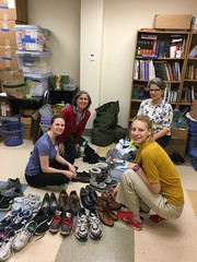 Mr. Rogers Day:  MACH OneHealth Foot Care Clinic (sfrikken) Tags: mr rogers day madison wisconsin charity neighbor mach onehealth homeless clinic foot care ann volunteer
