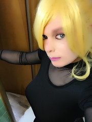 (Tatiana brooks) Tags: crossdresser crossdress transexual gurl girl blondehair blonde mtf shemale ladyboi ladyboy lgbt genderqueer transgender trans