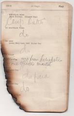 24-30 May 1915 (wheresshelly) Tags: ww1 wwi world war 1 australia gallipoli egypt military australian 4th field ambulance anzac morton wilfred