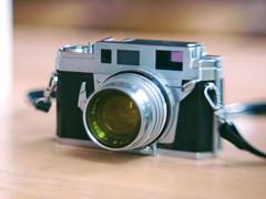 konica iiia, zen quality (too close for infinity) Tags: free lens 56mm konica iiia jml f13 rangefinder
