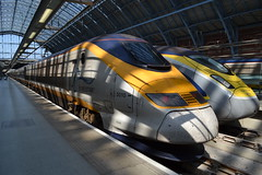 Eurostar 373009 - 373010 Remembering Fromelles (Will Swain) Tags: london st pancras international 7th april 2017 train trains rail railway railways transport travel uk britain vehicle vehicles country england english eurostar 373009 373010 remembering fromelles class 373 eu europe paris france 3009 3010 9o32 gare du nord 1422