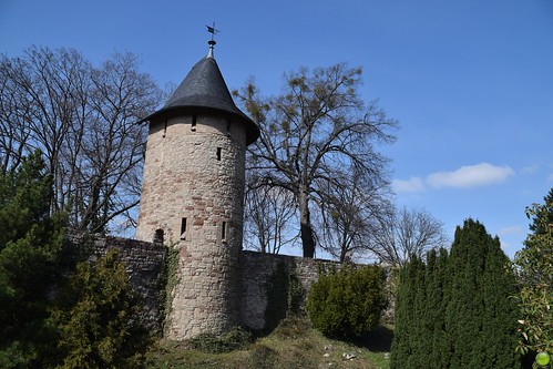 Defensive wall with a tower