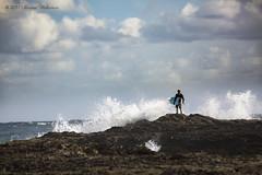 The Sky Above, and Ocean Below (Sharna Wilkinson) Tags: waves ocean clouds sky seascape canon canon5dmarkiii canonaustralia snapperrocks goldcoast goexplore surf surferlife