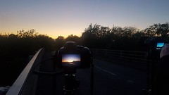 20170422_204146 (cerrierussell) Tags: sunset silhouette m40 bridge worminghall long exposure cars lights