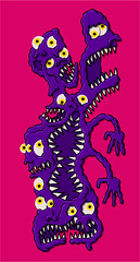 Creux insoutenable V2 (Gwendal_) Tags: gwenboul art punk drawing weird strange étrange figurationlibre raw lowbrow centrifugue gwendal outsider brut uguen brest graphiste breton gwendalorg centrifuguefr creux insoutenable