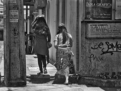 Stripes (Beegee49) Tags: street scene filipina ladies young stripes bacolod city philippines