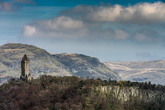 Braveheart (Stefan (back from Scotland, but need some time)) Tags: scotland landscape monument williamwallace braveheart wallace freedom scottish english melgibson autonomy stirling stirlingshire sonya7m2 sonya7ii sonyalpha7 canonef7020028lisiiusm sky hills trees clouds