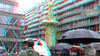 Inhuldiging Marten Toonder Monument Rotterdam 3D (wim hoppenbrouwers) Tags: inhuldiging marten toonder monument rotterdam 3d anaglyph stereo redcyan artoonisten bommel