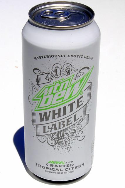 Mountain Dew White Label