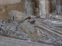 13th Century Bishop (Aidan McRae Thomson) Tags: worcester cathedral worcestershire medieval sculpture carving effigy tomb monument