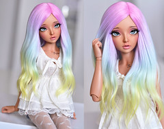 (4arllin) Tags: bjd minifee mnf celine doll alpaca wig fairyland tan 4arllin vings eyes toy