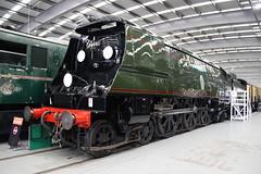 34051 Winston Churchill (372Paul) Tags: nrm shildon nationalrailwaymuseum steam diesel electric e5001 class71 deltic lner emu 2hap black5 5000 sanspareil apt advancedpassengertrain