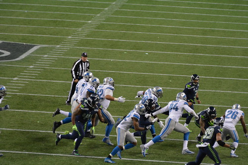 2016 Seahawks vs Detroit Lions Wild Card game