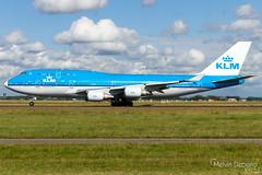 KLM Royal Dutch Airlines Boeing 747-406(M)  |  PH-BFD  |  Amsterdam Schiphol - EHAM (Melvin Debono) Tags: klm royal dutch airlines boeing 747406m | phbfd amsterdam schiphol eham netherlands melvin debono spotting canon 7d 600d plane planes polderbaan airport airplane aviation aircraft holland