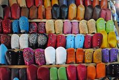 Babouche Slippers (just_a_cheeseburger) Tags: shoes morocco fes babouche feselbali fesmedina