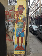 St. Cargo (Frank Design Fotos) Tags: streetart graffiti bricklane spitalfields eastend eastlondon iphone hanburystreet