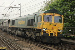 66554 4S15 - Durham (Rob390029) Tags: station durham railway heavy haul freightliner heavyhaul 66554