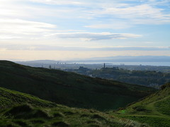 Edinburgh (Timbo_a_go_go) Tags: lighthouse monument skyline scotland edinburgh cityscape hill vivid estuary forth