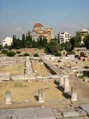 008 - Keirameikos & Byzantine Church (Scott Shetrone) Tags: other graveyards events churches places athens greece 5th kerameikos anniversaries
