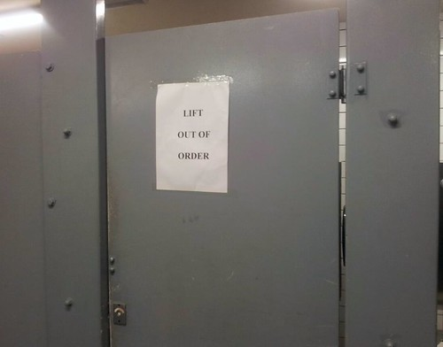 Lift out of order