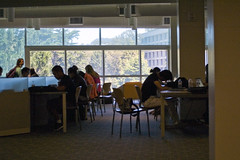 Studying for Finals in the Library (Nfielden) Tags: sanfrancisco california architecture university library sanfranciscostateuniversity academic sfstate librariesandlibrarians liblibs sanfranciscostate
