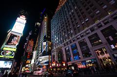 Times Square at night (m01229) Tags: new york nyc night manhattan timessquare d7000