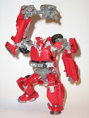 cliffjumper with battle axe transformers prime r.i.d (tjparkside) Tags: prime with deluxe battle class robots transformers disguise axe rid autobot hasbro cliffjumper