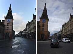 January and June 2013 8 (route9autos.co.uk) Tags: june scotland town glasgow centre union apocalypse january queen after beforeandafter argyle crowds