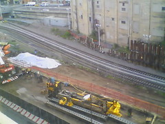Record by Always E-mail, 2013-06-19 05:54:58 (atlanticyardswebcam) Tags: newyork brooklyn webcam prospectheights atlanticyards vanderbiltrailyard 696716atlanticavenue 718728atlanticavenue block1120