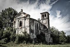 (cormar78) Tags: abandoned tetto decay chiesa campanile terreno campi abbandono marcocorti cormar cormar78