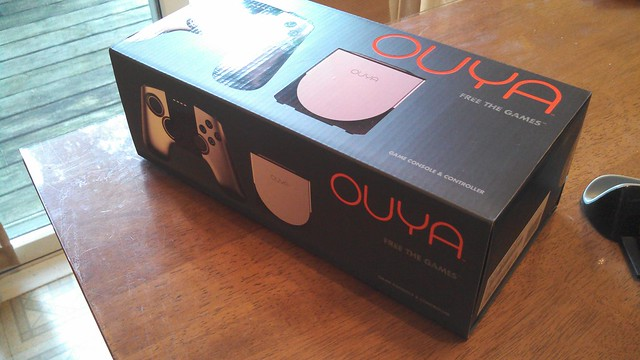 Unexpected package arrived today #ouya