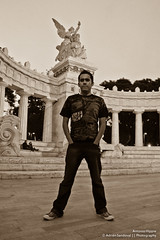 Antonio Hippie (SegundoFelino) Tags: city mexico photography amigo friend df hippie antonio adrien juarez sandoval toño hemiciclo