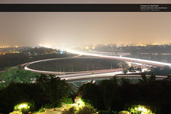Zero Point, Islamabad, Pakistan at night_1256