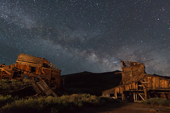 Old Mine at Night (Jeffrey Sullivan) Tags: california copyright usa night canon photography photo mine 4 july astrophotography milkyway easternsierra 2013 jeffsullivan 5dmarkiii