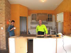 house kitchen bench tim cabinet au australia brett redmond wa acacia westernaustralia strawbale housebuild 6327 greatsouthern redmoonsanctuary