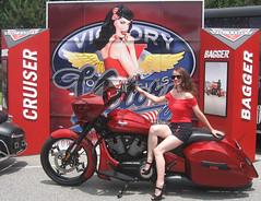 VictoryCrop1 (KickstartKate13) Tags: vintage victory motorcycle pinup bikeshow victorymotorycles