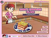 莎拉的烹飪班:千層麵(Lasagna: Sara's Cooking Class)