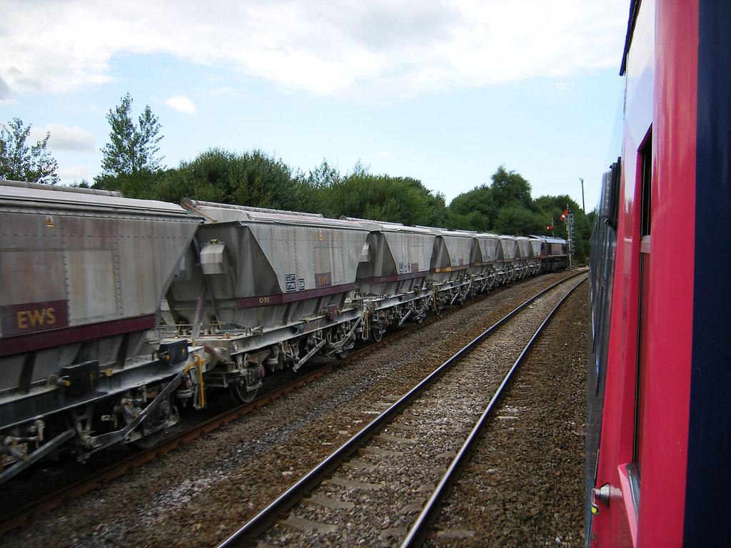 8205 cornwall - China Clay Train At Lostwithiel Marky7890 Tags Train Cornwall Railway Firstgreatwestern Cda Hst